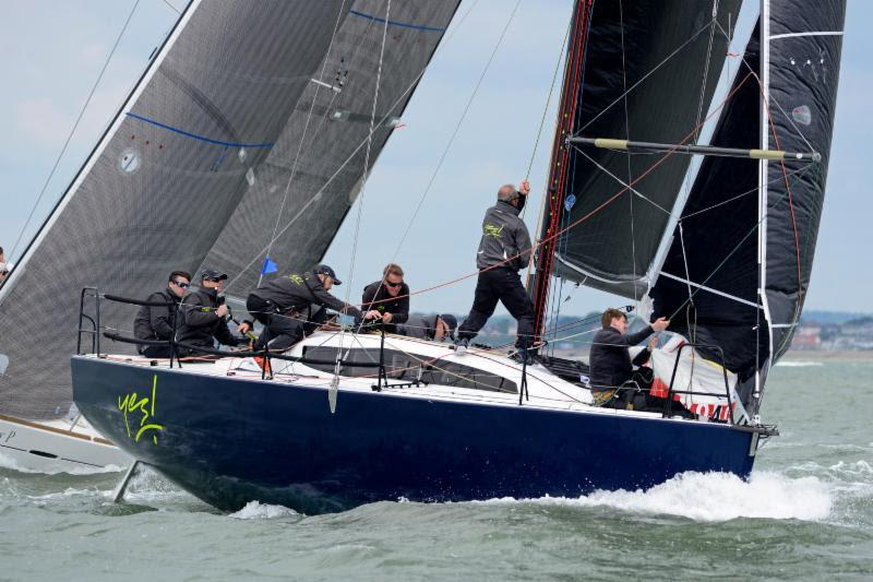 Winner of IRC Two and joint 2016 RORC IRC National Championship trophy - photo © Rick Tomlinson / www.rick-tomlinson.com