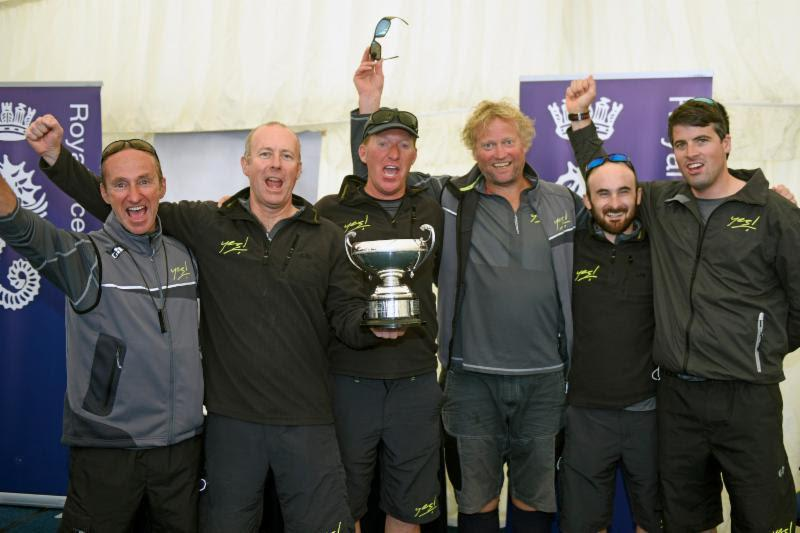 Adam Gosling and the crew of JPK 10.80, Yes! at the RORC IRC Nationals - photo © Rick Tomlinson / www.rick-tomlinson.com