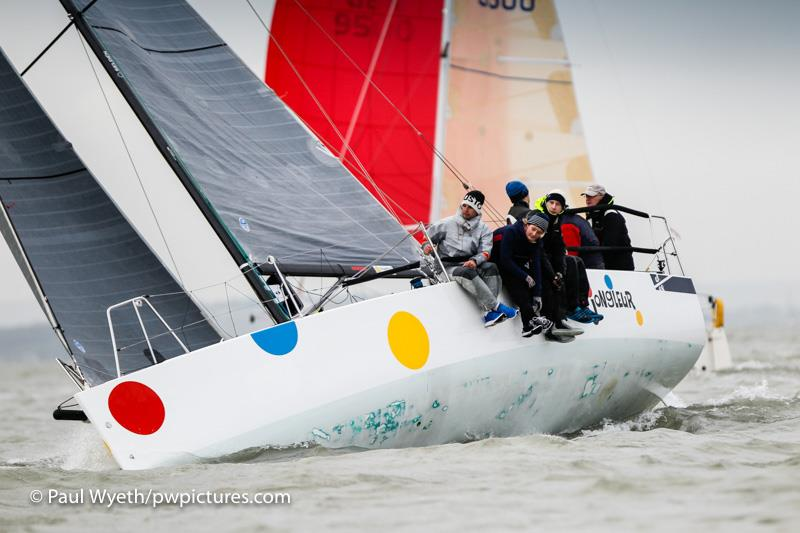 35th Hamble Winter Series day 8 - photo © Paul Wyeth / www.pwpictures.com