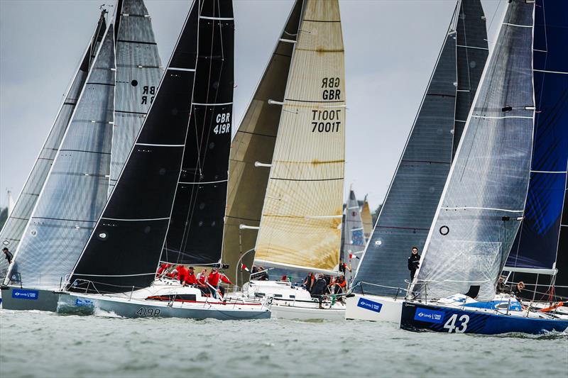 IRC Class 3 on day 1 of Lendy Cowes Week 2017 - photo © Paul Wyeth / www.pwpictures.com