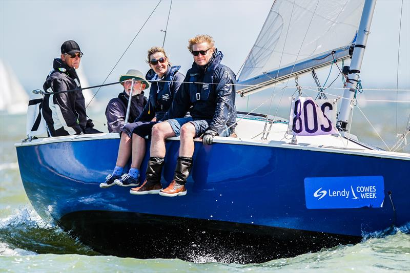 Xantz finished 7th on day 3 of Lendy Cowes Week 2017 - photo © Paul Wyeth / CWL
