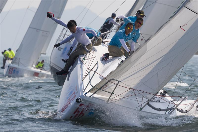 Day 4 of the 11th China Cup International Regatta photo copyright China Cup / Stefano Gattini taken at  and featuring the IRC class