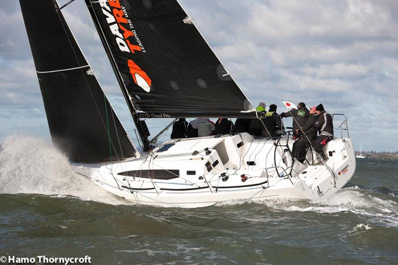 2017 Hamble Winter Series week 5 - photo © Hamo Thornycroft / www.yacht-photos.co.uk