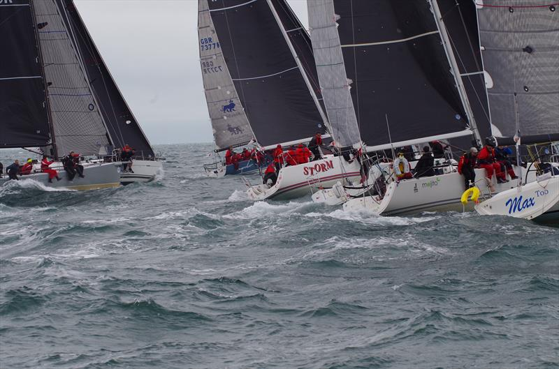 IRC1 start during the Spinlock IRC Welsh Nationals at Pwllheli - photo © Carol Twells