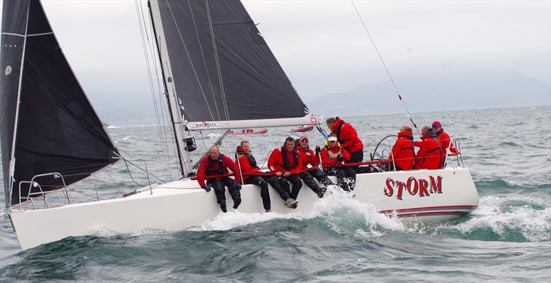 Celtic Cup Champions 'Storm' during the Spinlock IRC Welsh Nationals at Pwllheli - photo © Carol Twells