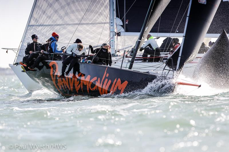 IRC Autumn Championships at the HYS Hamble Winter Series - photo © Paul Wyeth / www.pwpictures.com