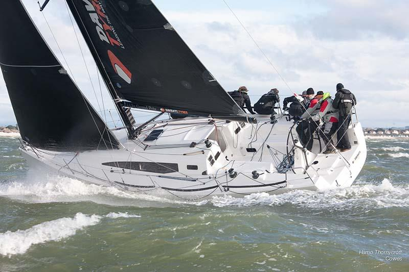 Davanti Tyres during week 4 of the HYS Hamble Winter Series - photo © Hamo Thornycroft / www.yacht-photos.co.uk