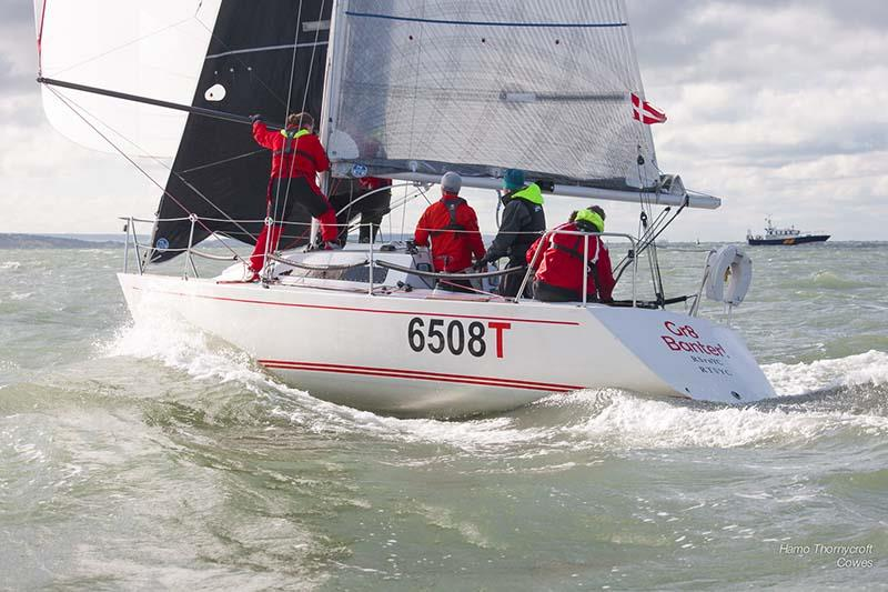 Gr8Banter during week 4 of the HYS Hamble Winter Series - photo © Hamo Thornycroft / www.yacht-photos.co.uk