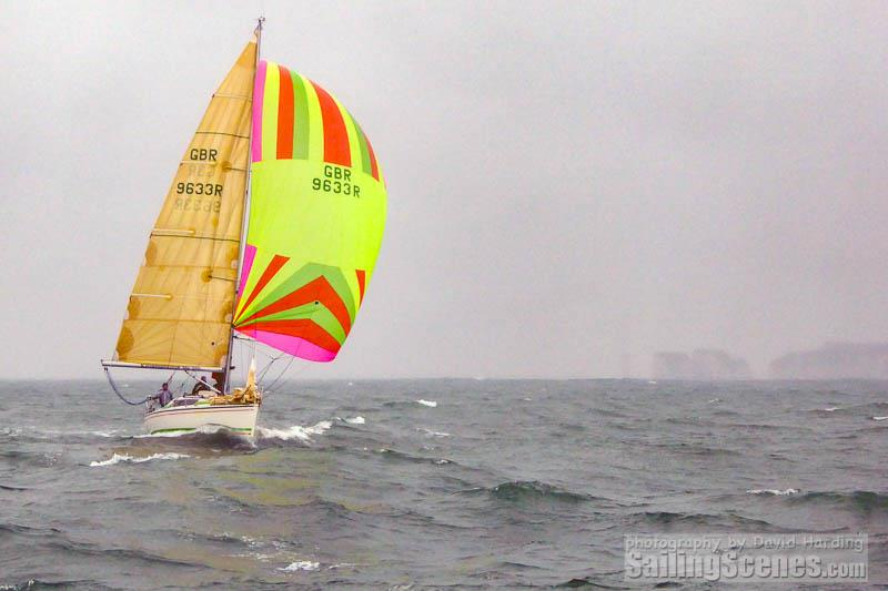 Ruthless (GBR9633R, Dehler 33) on day 5 of the Poole Bay Winter Series - photo © David Harding / www.sailingscenes.com