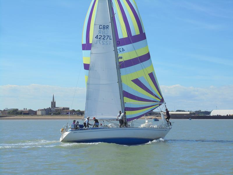 Ausome Charity takes on the Fastnet - photo © Paul Wood