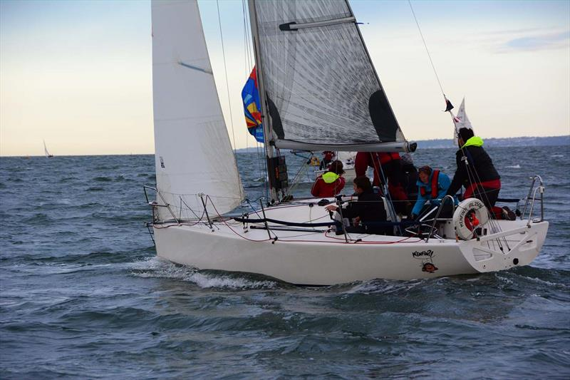 M'Enfin during Hamble River's Wednesday Night Early Bird series race 4 - photo © Trevor Pountain
