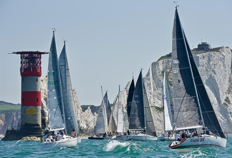 Round the Island Race 2019 - photo © Tom Hicks / www.solentaction.com
