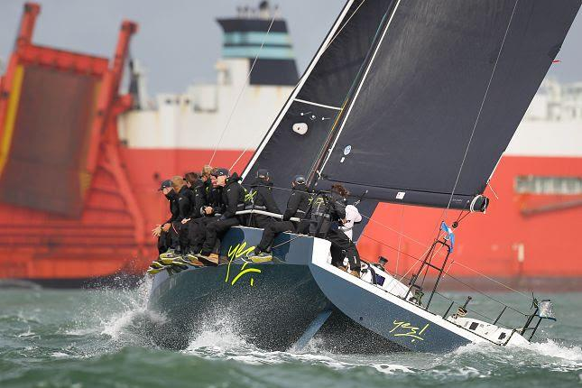 Yes! in IRC on Cowes Week 2019 day 7 - photo © Paul Wyeth / CWL