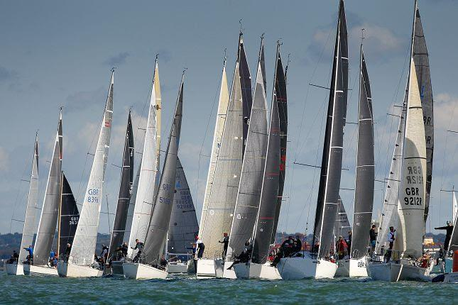 IRC 5 on Cowes Week 2019 day 7 photo copyright Paul Wyeth / CWL taken at Cowes Combined Clubs and featuring the IRC class