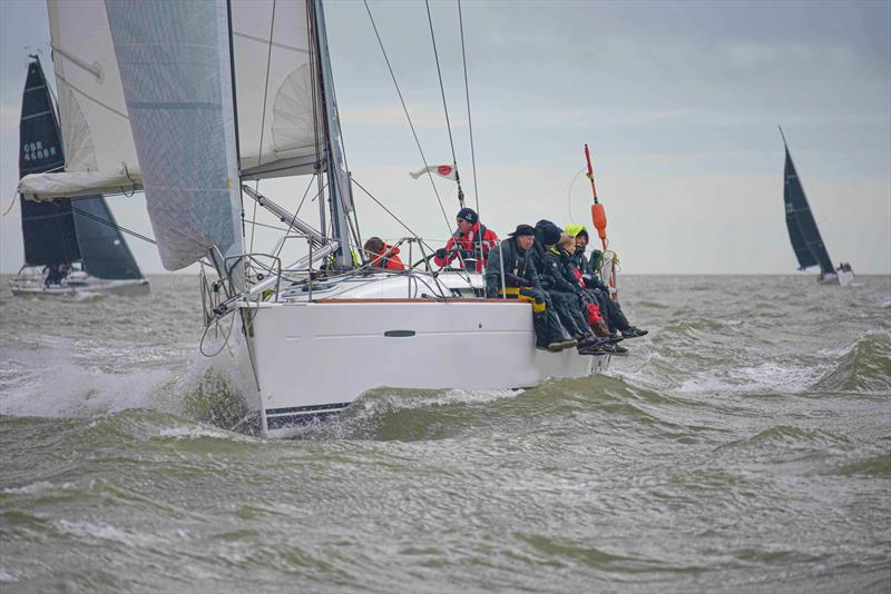 Lancelot 2 in Class IRC 1 on day 1 of the Warsash Spring Series photo copyright Andrew Adams taken at Warsash Sailing Club and featuring the IRC class