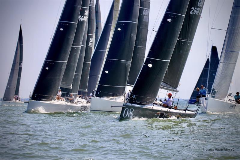 Spectacular late summer conditions are forecast for the weekend with solid breeze and sunshine predicted for the Land Union September Regatta - photo © Louay Habib / RSrnYC