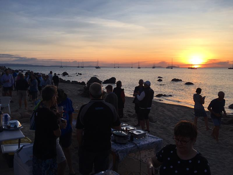 Cape Upstart sunset barbecue - Sealink Magnetic Island Race Week - photo © Mike Steele