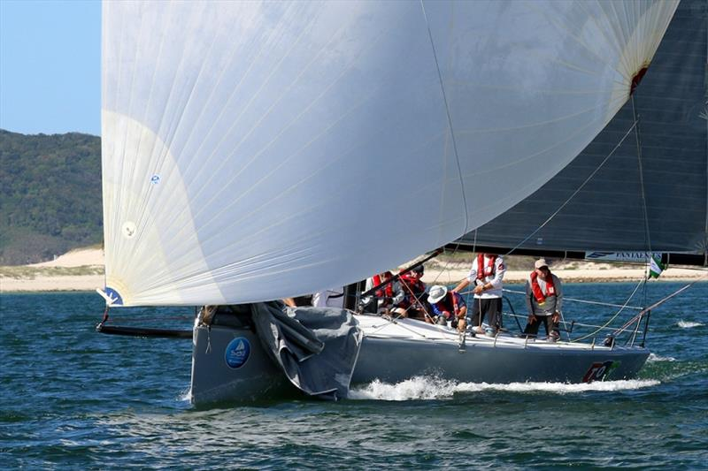 Toy Story Super 12s photo copyright Mark Rothfield taken at Corlette Point Sailing Club and featuring the IRC class