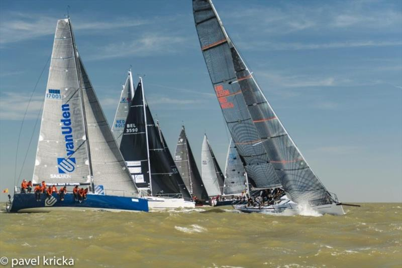 Start of the RORC North Sea Race photo copyright Pavel Kricka taken at Royal Ocean Racing Club and featuring the IRC class