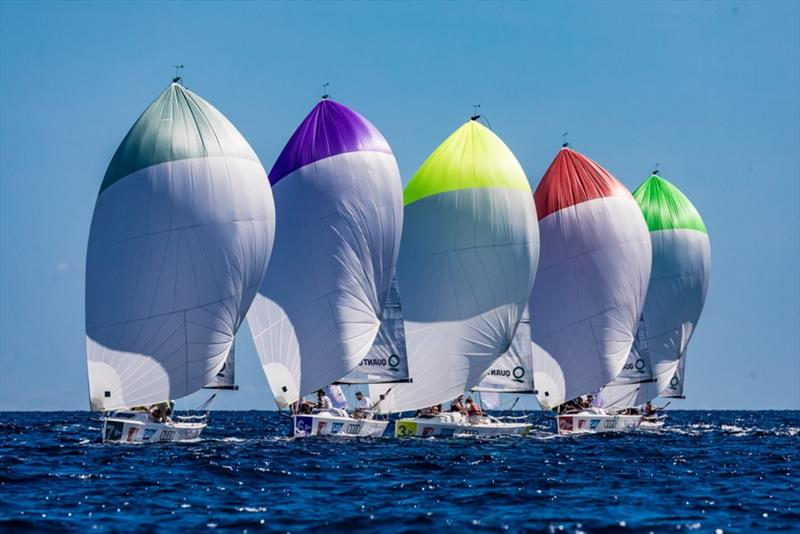 The fleet of Sailing Champions League - photo © SCL / Lars Wehrmann