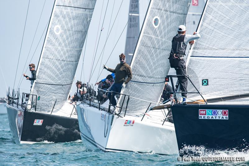 2018 Helly Hansen NOOD Regatta - Day 2 - photo © Paul Todd / Outside Images
