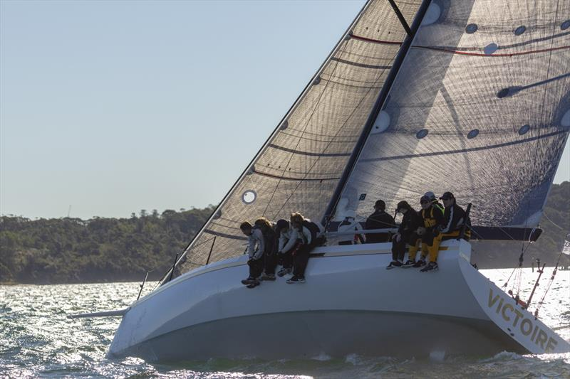 Daryl Hodgkinson's impressive new Fast 40 class yacht, Victoire, will be pushing hard to win IRC Division 2 at Hamilton Island Race Week 2018 - photo © CYCA