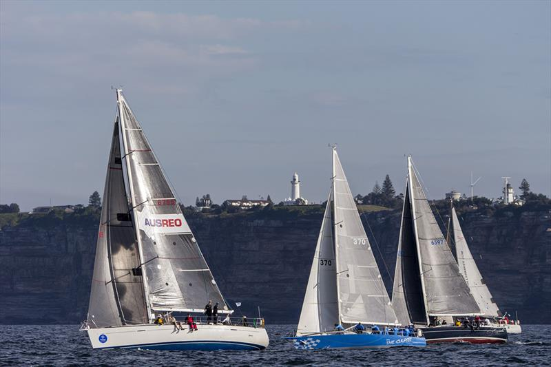 Noakes Sydney Gold Coast Yacht Race - Ausreo at the start and sadly one of 3 retirements - photo © Andrea Francolini