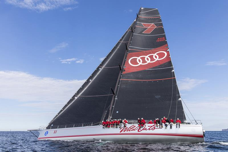 Noakes Sydney Gold Coast Yacht Race - Wild Oats XI - photo © Andrea Francolini