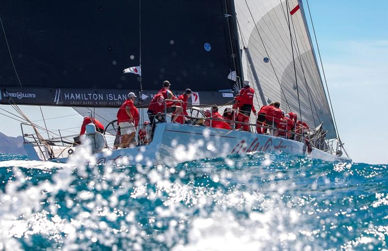 Wild Oats XI in Whitsunday Passage - photo © Crosbie Lorimer - Bow Caddy Media