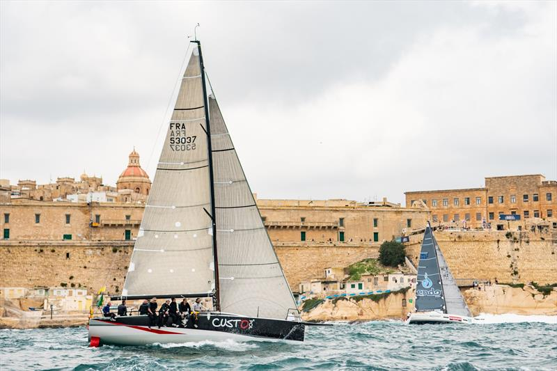 2018 Rolex Middle Sea Race photo copyright Kurt Arrigo / Rolex taken at Royal Malta Yacht Club and featuring the IRC class