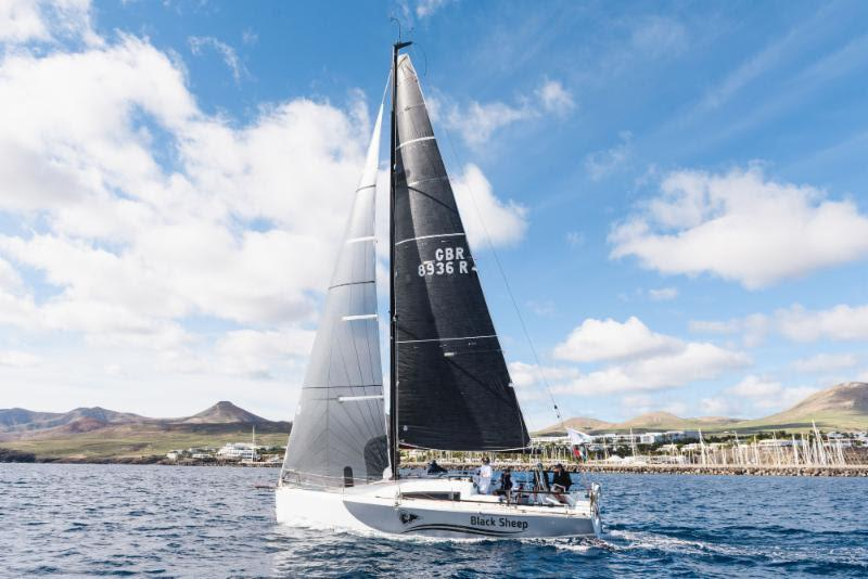 Day 3 - Having a good race in IRC, Trevor Middleton's British Sun Fast 3600 Black Sheep - 2018 RORC Transatlantic Race photo copyright RORC taken at Royal Ocean Racing Club and featuring the IRC class