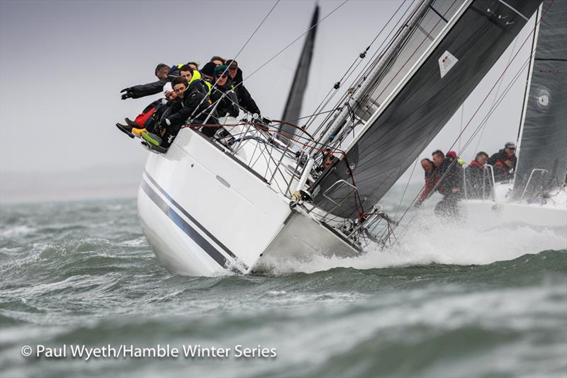 Hot Rats on week 8 of HYS Hamble Winter Series - photo © Paul Wyeth / www.pwpictures.com