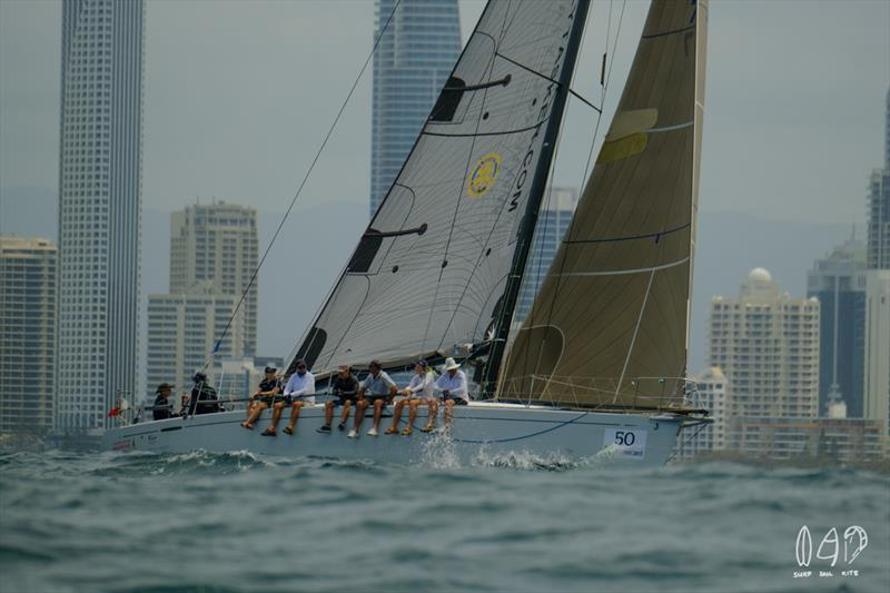 Passage Racing offshore from the iconic Gold Coast in Queensland, Australia. - photo © Mitchell Pearson / SurfSailKite