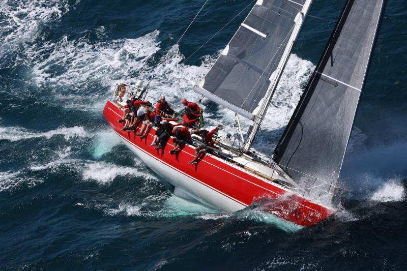 In IRC Two, after a text book start controlling the fleet inshore, Ross Applebey's Oyster 48 Scarlet Oyster (GBR) revelled in the upwind conditions - RORC Caribbean 600 - photo © Tim Wright