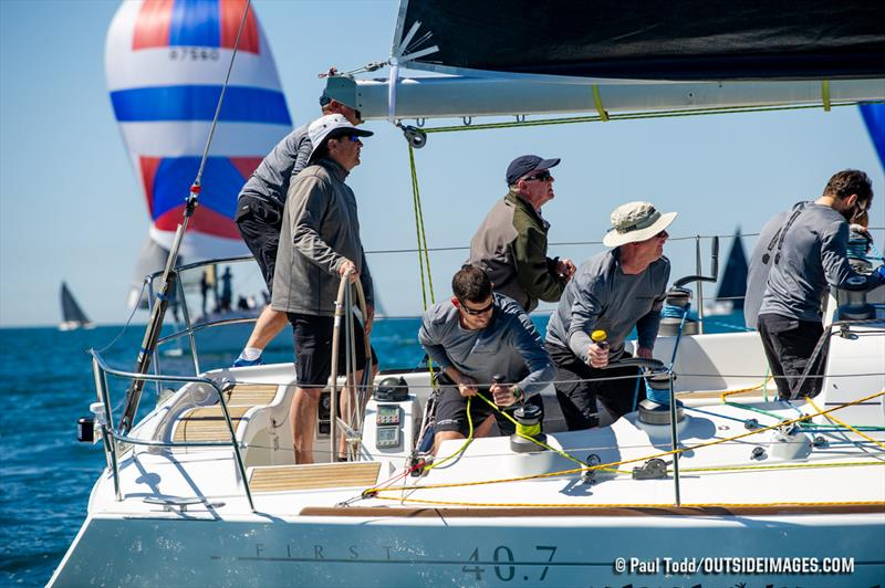 2019 Helly Hansen NOOD Regatta San Diego day 2 photo copyright Paul Todd / Outside Images taken at San Diego Yacht Club and featuring the IRC class
