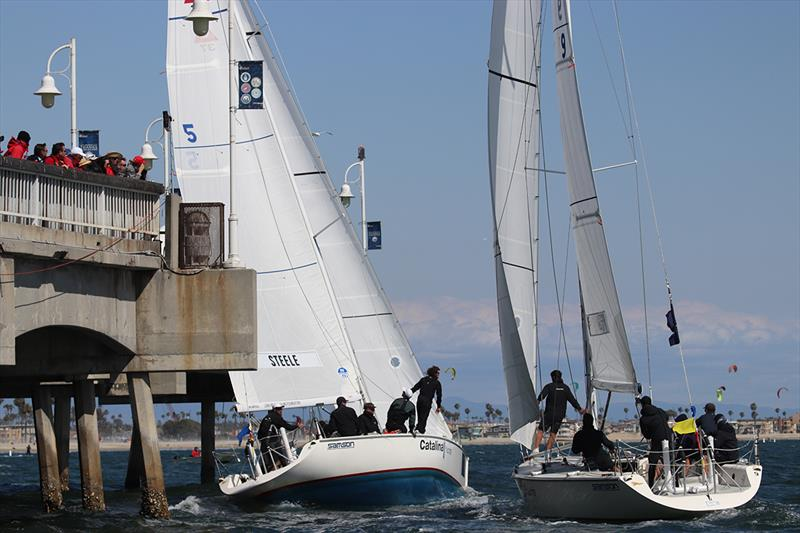 2018 Congressional Cup photo copyright Bronny Daniels taken at Long Beach Yacht Club and featuring the IRC class