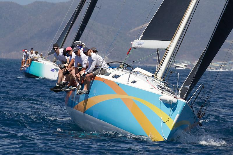 Tony Mack's J122 Team McFly/El Ocaso win the Racing class in the Scrub Island Invitational - BVI Spring Regatta & Sailing Festival 2019 - photo © Ingrid Abery / www.ingridabery.com