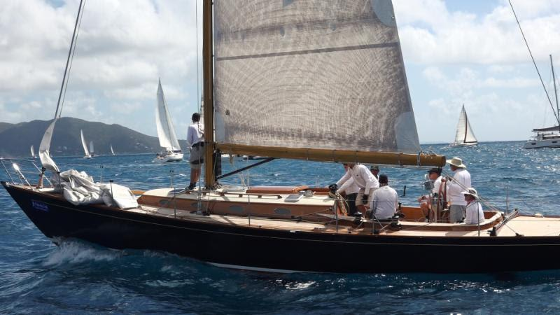 Jim Taylor-designed Spirit of Tradition Taylor 49 Blackfish - BVI Spring Regatta - photo © Ashley Love / t2p.tv