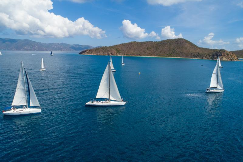 Catch 22 lead the Jib & Main 1 fleet on final day and win their class overall - BVI Spring Regatta 2019 photo copyright Alastair Abrehart taken at Royal BVI Yacht Club and featuring the IRC class