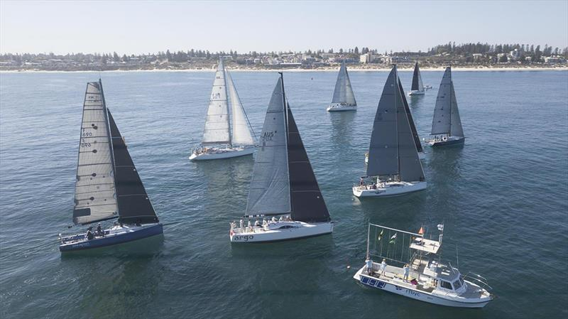Race start for Division 1 yachts with Al Fresco a bit too keen - Cape Vlamingh Race - photo © John Chapman (SailsOnSwan)