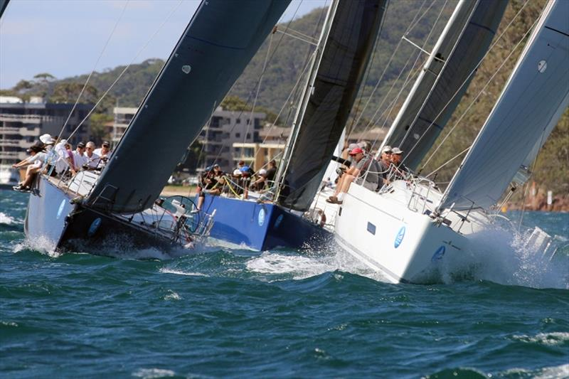 Sail Port Stephens action on the bay - photo © Mark Rothfield