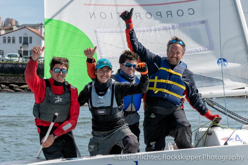 Mesnil's Match in Black by Normandy Elite Team - 2019 World Sailing Nations Cup Grand Final - photo © Leslie Richter, Rockskipper Photography