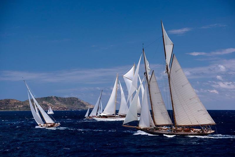 Antigua Classics Yacht Regatta 2019 © Cory Silken