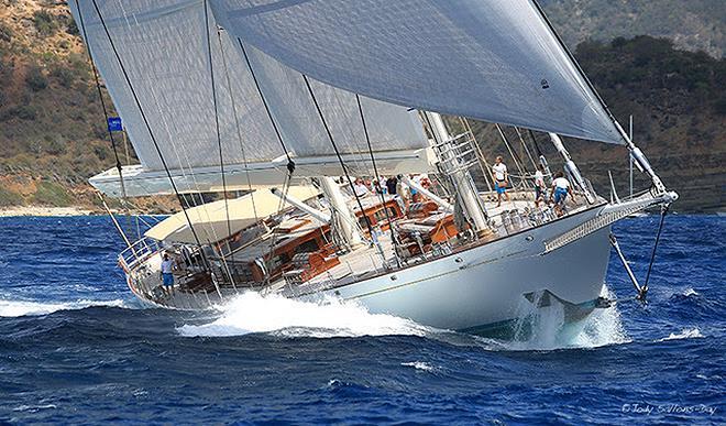 2019 Locman Antigua Classic Yacht Regatta - Day 1