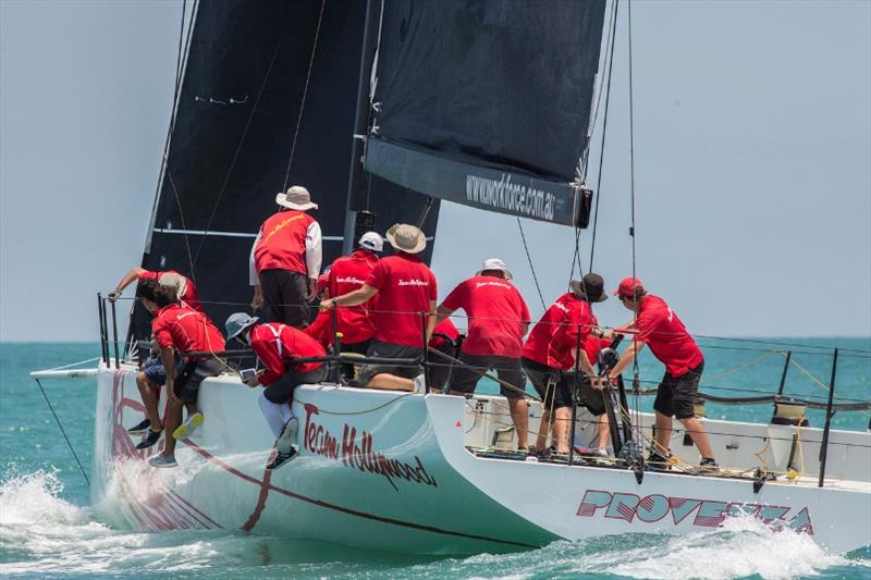 Team Hollywood take the early lead in IRC Racing 1 - Top of the Gulf Regatta 2019, Day 1 - photo © Guy Nowell / Top of the Gulf Regatta