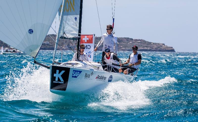 2nd place: Club Nautique de Versoix from Switzerland - SAILING Champions League 2019 - photo © SCL / Sailing Energy