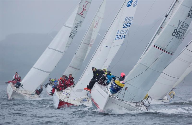 One design fleet with Sigma 33 GBR8856Y, Mayrise, James Miller, Helensburgh SC - Day 3, Clyde Cruising Club's Scottish Series 2019 - photo © Marc Turner / CCC