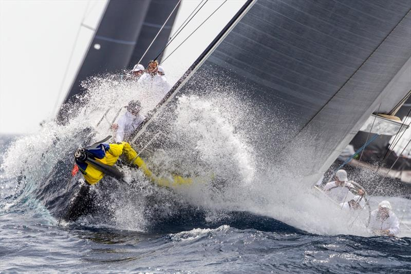 The big waves made for a wet ride today. - Rolex Giraglia 2019 - photo © IMA / Studio Borlenghi