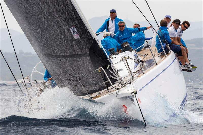 Jean-Pierre Barjon's Lorina 1895 was second in the IRC 0 Cruiser class today. - 2019 Rolex Giraglia - photo © IMA / Studio Borlenghi