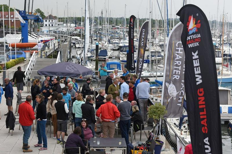 The Champagne Charlie July Regatta has plenty of activities ashore utilising the superb facilities at the modern clubhouse on the banks of the Hamble River - photo © Rick Tomlinson